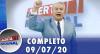 Alerta Nacional (09/07/20) | Completo