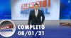 Alerta Nacional (08/01/21) | Completo