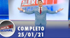 Alerta Nacional (25/01/21) | Completo