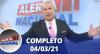 Alerta Nacional (04/03/21) | Completo