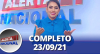 Alerta Nacional (23/09/21) | Completo