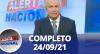 Alerta Nacional (24/09/21) | Completo