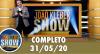 João Kléber Show (31/05/2020) Completo