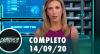 Assista à íntegra do RedeTV News de 14 de setembro de 2020