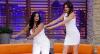 """Gretchen ensina Luciana Gimenez a fazer a """"Floss Dance"""""""