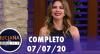 Luciana by Night recebe Helô Pinheiro (07/07/2020) - Completo