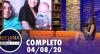 Luciana By Night: Thammy Miranda apresenta Bento (04/08/20) | Completo