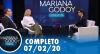 Mariana Godoy Entrevista aborda o surto de Coronavírus (7/02/2020)
