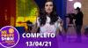 Me Poupe Show (13/04/21)   Completo
