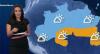 Pancadas de chuva atingem região Norte neste sábado (23)