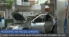 Carro explode após abastecimento de cilindro de gás no Rio de Janeiro
