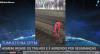 """""""Homem-Aranha"""" invade trilhos de trem e é agredido por seguranças"""