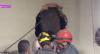 Ladrão fica entalado em chaminé de churrascaria em Minas Gerais