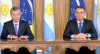 """Bolsonaro recebe presidente da Argentina e fala em """"aperfeiçoar"""" o Mercosul"""