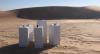 """Artista plástico cria obra de arte que toca a música """"África"""" no deserto"""