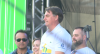Bolsonaro agradece o apoio do eleitorado evangélico na Marcha para Jesus