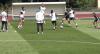 Seleção feminina treina antes de enfrentar a favorita França na Copa