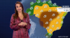 Clima seco e ensolarado prevalece na maior parte do Brasil