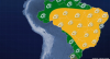 Previsão do tempo: Fim de semana terá clima seco em grande parte do Brasil