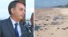 Bolsonaro diz que país teria vazado óleo no litoral do Nordeste
