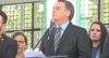 Bolsonaro participa do lançamento de submarino no Rio de Janeiro