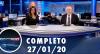 Assista à íntegra do RedeTV News de 27 de janeiro de 2020