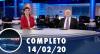 Assista à íntegra do RedeTV News de 14 de fevereiro de 2020
