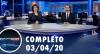 Assista à íntegra do RedeTV News de 03 de abril de 2020