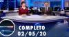 Assista à íntegra do RedeTV News de 2 de maio de 2020