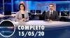 Assista à íntegra do RedeTV News de 15 de maio de 2020