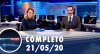 Assista à íntegra do RedeTV News de 21 de maio de 2020