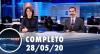 Assista à íntegra do RedeTV News de 28 de maio de 2020