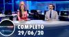 Assista à íntegra do RedeTV News de 29 de junho de 2020