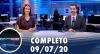 Assista à íntegra do RedeTV News de 9 de julho de 2020