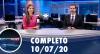 Assista à íntegra do RedeTV News de 10 de julho de 2020