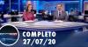 Assista à íntegra do RedeTV News de 27 de julho de 2020