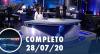 Assista à íntegra do RedeTV News de 28 de julho de 2020