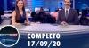 Assista à íntegra do RedeTV News de 17 de setembro de 2020