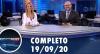Assista à íntegra do RedeTV News de 19 de setembro de 2020