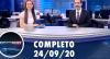 Assista à íntegra do RedeTV News de 24 de setembro de 2020