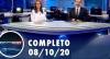 Assista à íntegra do RedeTV News de 8 de outubro de 2020