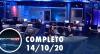 Assista à íntegra do RedeTV News de 14 de outubro de 2020
