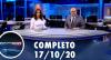 Assista à íntegra do RedeTV News de 17 de outubro de 2020