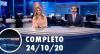 Assista à íntegra do RedeTV News de 24 de outubro de 2020