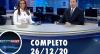 Assista à íntegra do RedeTV News de 26 de dezembro de 2020