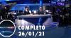 Assista à íntegra do RedeTV News de 26 de janeiro de 2021