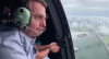 Bolsonaro sobrevoa áreas atingidas por enchente no Acre