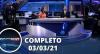 Assista à íntegra do RedeTV News de 03 de março de 2021