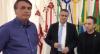 Bolsonaro acompanha embarque de grupo para Israel