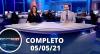 Assista à íntegra do RedeTV News de 05 de maio de 2021